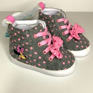 NEW Disney Minnie Mouse Baby Sneakers